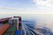Containerschiff auf der Ostsee