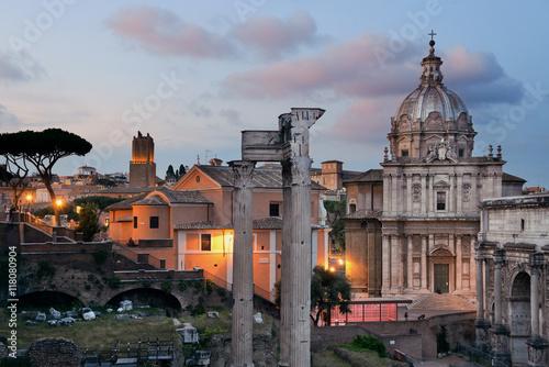 forum-rzymskie,-widok,-zdjecie,-architektura