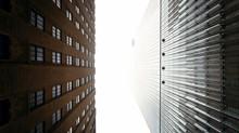 New York City v centru mlha
