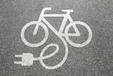 Fototapety E-Bike Ebike E Bike Pedelec elektro Fahrrad fahren Rad Stadt Umw
