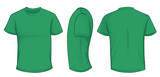Green Shirt Template
