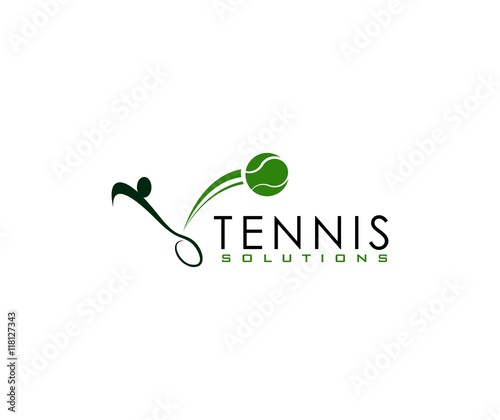 Fototapeta Tennis logo