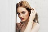 Beautiful young woman - soft feminine portrait