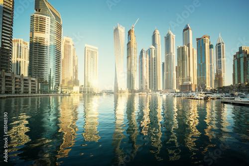 Fototapeta Dubai Marina, United Arab Emirates