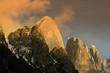 The Pala group (Italian : Pale di San Martino, Dolomiti delle Pale or Gruppo delle Pale) Mountain range in the Dolomites, in the eastern Trentino, part of the province of Belluno, Italy. UNESCO WH
