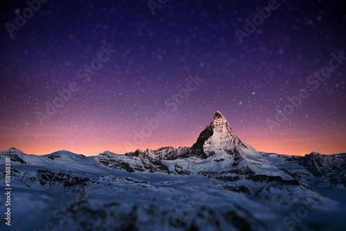 Poster Matterhorn, Switzerland.