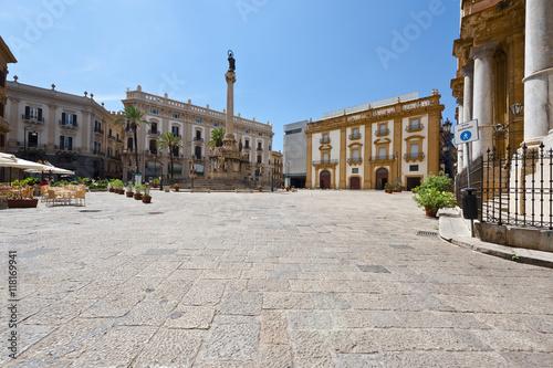 Papiers peints Palerme Square in Palermo