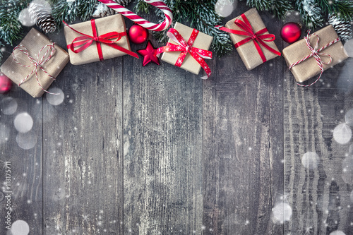Christmas background - 118175711
