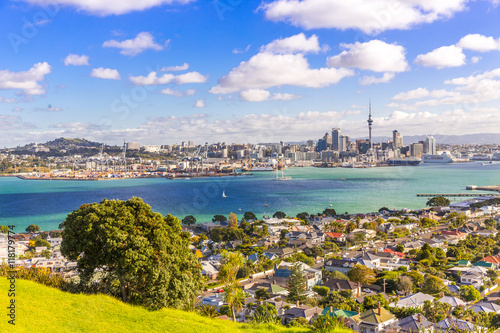 Skyline of Auckland #1, New Zealand