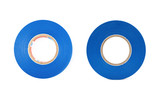 Blue insulating tape isolated - 118198570
