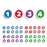 Number set label vector