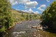 Blue River in Colorado, a tributary of the Colorado River