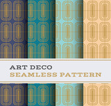 Art Deco seamless pattern 13