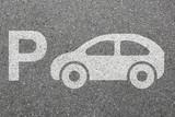 Fototapety Parkplatz Auto parken Fahrzeug Stadt Verkehr Mobilität