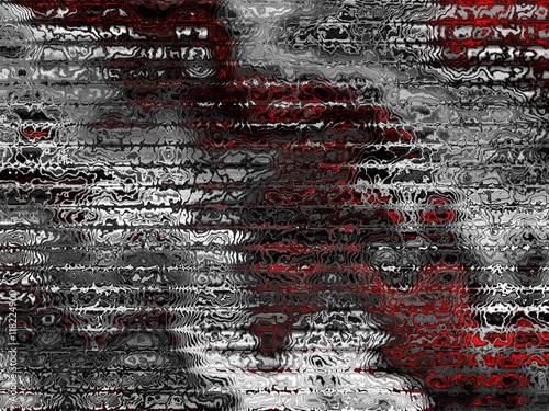 Zdjęcia na płótnie, fototapety, obrazy : Fractal digital background
