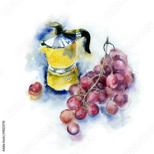 Juliste Watercolor painting