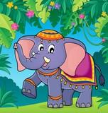 Indian elephant theme image 2