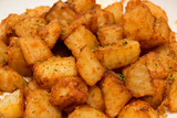 fried potaoes with wedges  Indian delicay