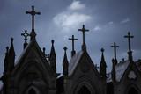 Old cemetery crosses