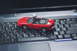 car on the keyboard