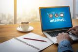Internet  Best Internet Concept of global business