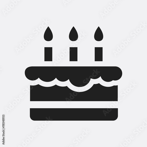 Birthday Cake Icon Illustration Buy Photos Ap Images Detailview