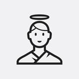 Angel icon illustration