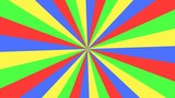 Circus striped colorful background animation. Seamless loop HD video.