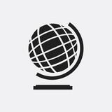 Globe icon illustration
