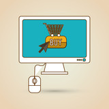 Cyber Monday concept with icon design, vector illustration 10 eps graphic.