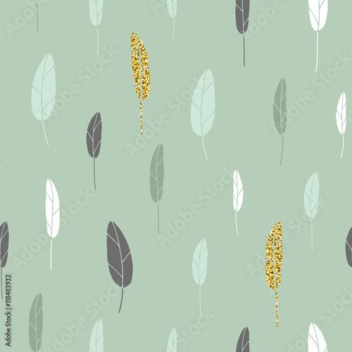 Leaf pattern. - 118483932