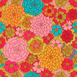 Abstract Seamless pattern. Floral background Seamless pattern with roses Seamless pattern with roses
