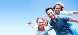 Happy parents with their children - 118488314