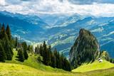 Alphütte im Berner Simmental, Schweiz