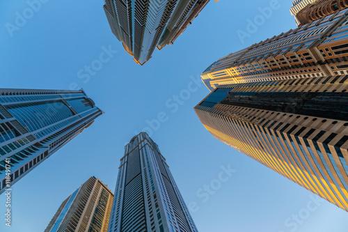 Foto op Canvas Texas Modern buildings in Dubai UAE