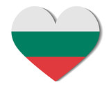 heart flag bulgaria