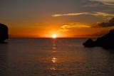 南国宮古島の夕日