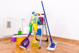 House cleaning concept