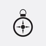 Compass icon illustration