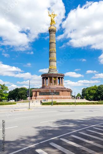 Naklejka Siegessäule im Tiergarten Berlin-Mitte