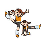 Children of aerobics