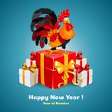 New Year congratulation