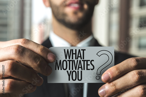 Poster What Motivates You?