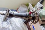 Retro used  sewing-machine