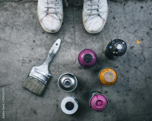 Street art concept  - 118636561