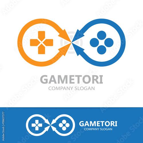 game controller logo template buy photos ap images detailview