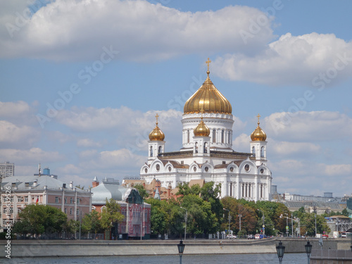 Fototapeta Christ the Saviour cathedral in Moscow