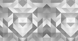 3d pattern abstract geometric polygon surface motion background loop 4k