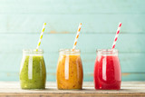 Fototapety detox smoothie drinks