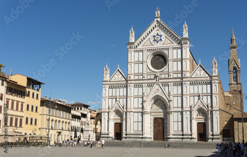 Poster Firenze. Santa Croce